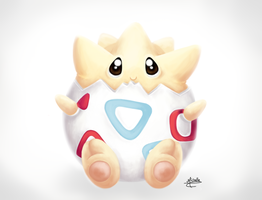Togepi by michelle-miranda