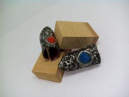 Soul Mates Rings made of tin (2) by TheDrailusX