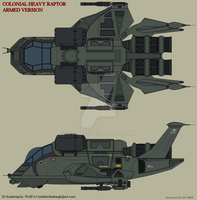Heavy Raptor_Armed Version by Wolff60