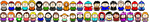 South Park Pixel Art - Set 3 by KaiserRangerPH12345