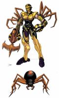 Beast  Wars Black Arachnia by Dan-the-artguy