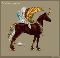 Egyptian hopesh by Esa82