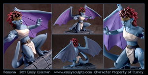Commission : Demona (Gargoyles) by emilySculpts