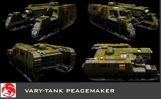 Vary-tank The Peacemaker by RichardJ-3D