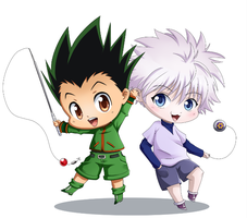 Gon and Killua Charm by Simona018