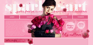 Design ft. Lily Collins by PetulaT