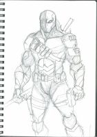 deathstroke by dushans
