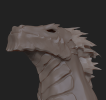 Red Dragon - 60-Minute Practice Sculpt by GaryStorkamp