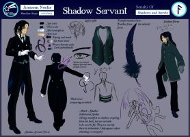 Shadow Servant (Anscom) Character Sheet for SMV by Jeishii