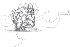 Spawn stress sketches from yesterday 1 by ConstantM0tion
