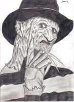 Freddy Krueger by brighteyesdarkheart