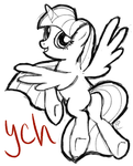 :CLOSED: Pony YCH Auction :CLOSED: by equinepalette