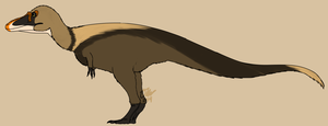 Qianzhousaurus by StygimolochSpinifer