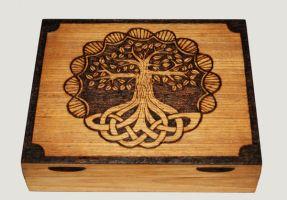Tree of Life Box by llinosevans