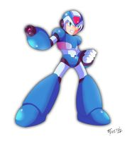 Mega Man X again by SaitoKun-EXE