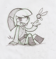 Left Handed Link by Rica-Fox-Prower
