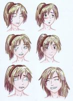 Alyan's Expressions by samuraXIV