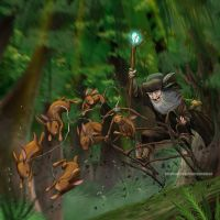 Radagast the Brown by nedesem