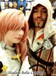 Lightning and Ezio by MasterCyclonis1
