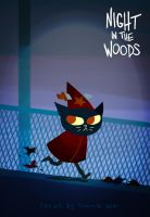 Night in the woods - Witchdaggah by miesikard