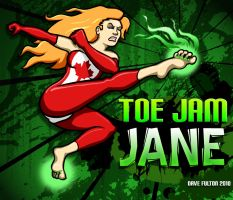 Toe Jam Jane by Jacksmack