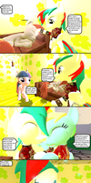 The return of the heart (page 6) by MLMshironwindragon