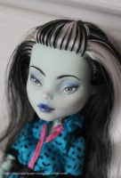Repainted Frankie (For Sale) by MySweetQueen-Dolls