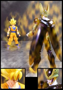 Cell vs Goku Part 2 - p7 by SUnicron