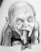 Smeagol by Stormy-Bear