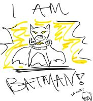 I AM BATMAN by AluraRB