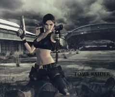 Tomb Raider: Huntress by SallibyG-Ray