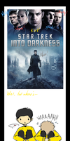 Star Trek Into Darkness: DVD Cover = no love by xCheckmate