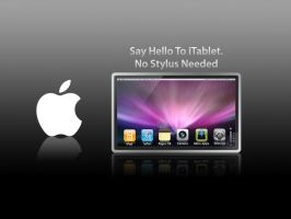 Say Hello to the Apple iTablet by Oliuss