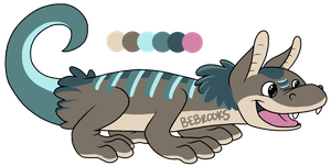 Fluffy Lizard Adopt! [CLOSED] by BROOKSlE
