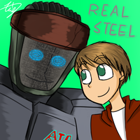 Real Steel by Xing-2-Lee