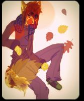 Let the leaves fall by Bacon-Paws