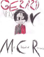 Gerard Way My Chemical Romance by Arie-Vampiress