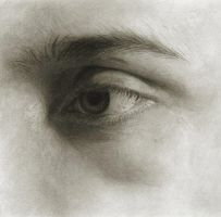 Self-Portrait: Eye Study by Randy-man