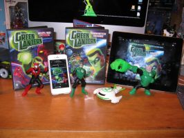Green Lantern the Animated Series Collection by DivineROAR