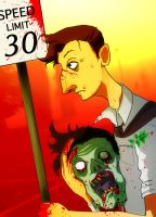 Speed Limit 30. by Buuya