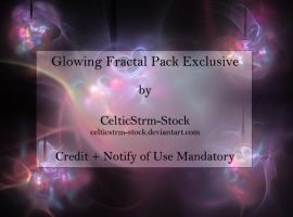 Glowing Fractal Pack by CelticStrm-Stock by CelticStrm-Stock