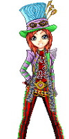 I am your host, they call me The Mad Hatter by bcboo