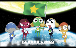 Keroro Platoon - Conquer The World by RyoNeko48