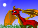 AT with Spyro-fan-25 by Squidub