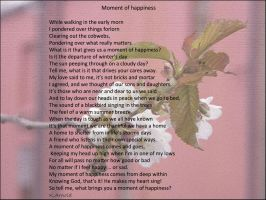 Moment of happiness by Buble
