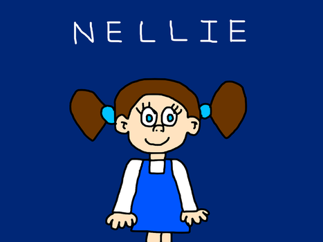 Nellie, The Prince and Belle's Daughter (Disney OC by MikeEddyAdmirer89