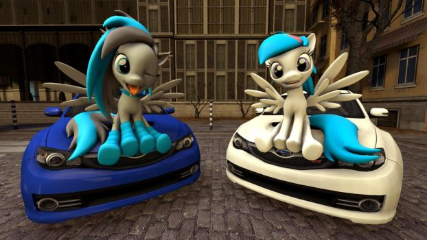 Mareana and Jenny in Fast and Furious by GreenishFury