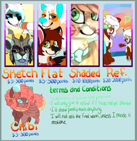 Commission Prices :: OUT DATED by BearSmug