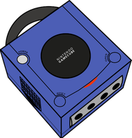 Gamecube console by Peach-Lover