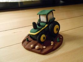 Birthday Gift John Deere Tractor by sinister7showdown